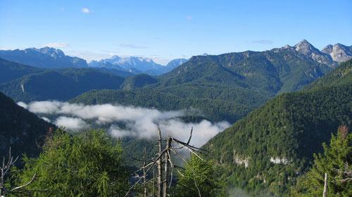 Panoramablick, und dies auf nur 1000m !