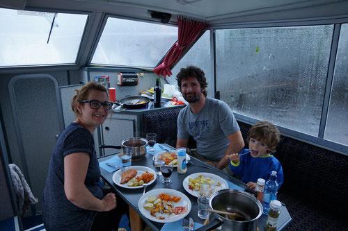 Leider nicht selber gefangen: Seehecht zum Abendessen