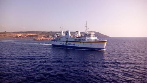 Auf der Fahrt zurück nach Malta
