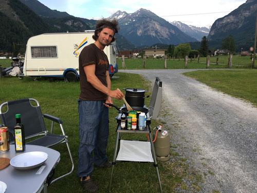 Mein neuer Camping-Grill wird ausprobiert!