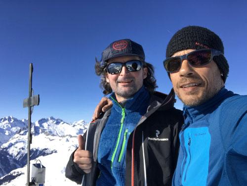 Am Gipfel des Badus / Six Madun 2'928m