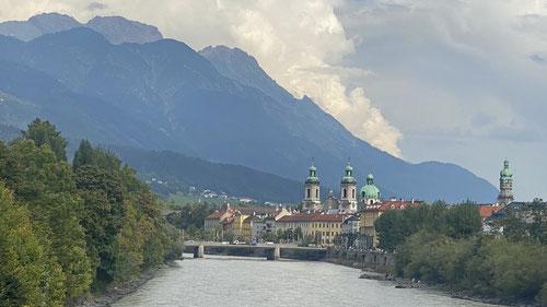 Innsbruck kommt näher.