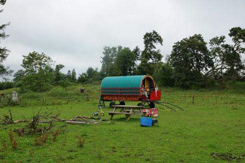 Unser Übernachtungsplatz in Pike of Rushall