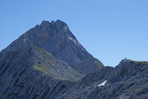 Auf dem Weg zur Schönfeldspitze