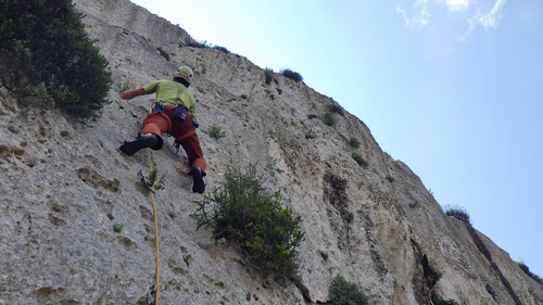 """Klettern an den """"Italian Walls"""""""
