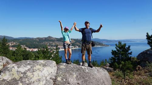 Noch sind wir nicht auf dem Gipfel Louro - aber bald!