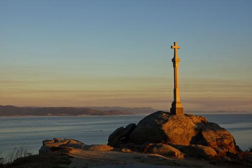 Das Ende des Jakobweges bei Cabo Finisterre.