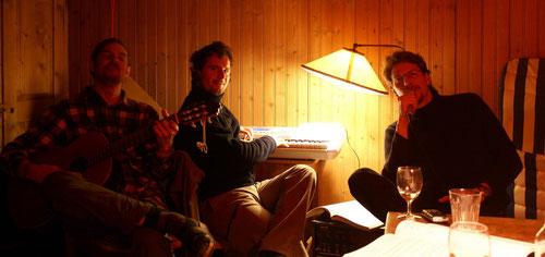 Unser Soundstudio im Gschät.