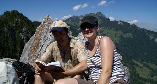 Auf dem Sunnighorn (1397 m)