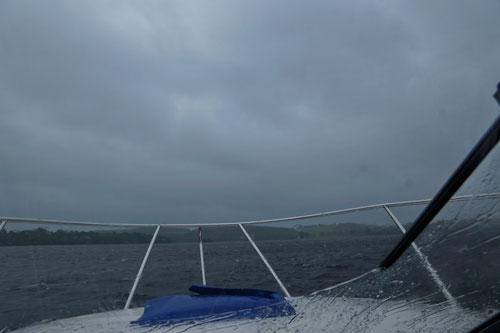 Unterwegs in Wind und Wellen.