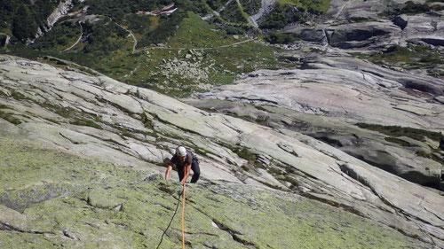 Klettern im griffigen Urnergranit!