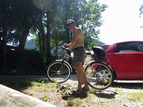 Ein Mann – ein Fahrrad