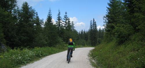 Runterfahren mit dem Bike: Gemütlich, spassig, schnell