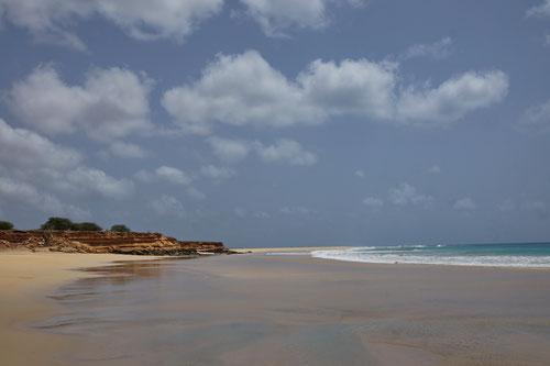 Strand bei Ponta Preta