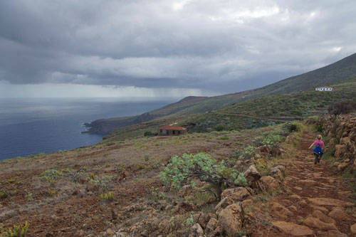Landschaftswechsel: Wir könnten uns hier ebenso an einer nordischen Küste befinden.