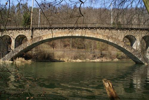 Eisenbahnbrücke beim Kaltbrunnental