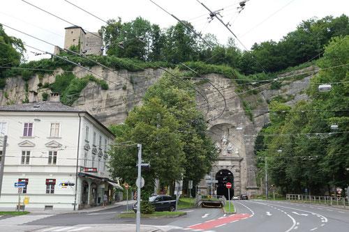 Der Eingang des Sigmundstors.