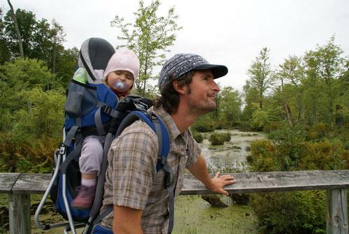 Unterwegs im Charleston Lake Provincial Park
