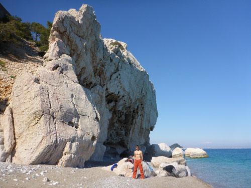 Die Felsen von Akyarlar Sol