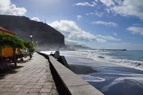 Die Promenade in Puerto Tazacorte