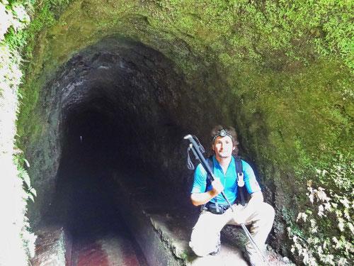 Auf in den nächsten Tunnel