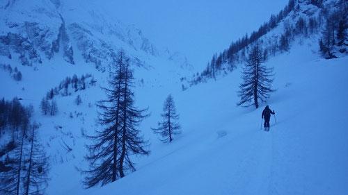 Aufstieg zur Alpe di Cristallina