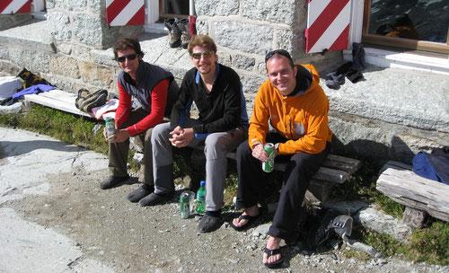 Cabane du Grand Mountet 2886m