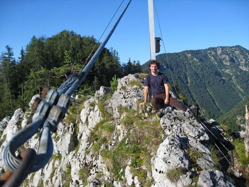 Am ersten der beiden Gipfel (1092m)