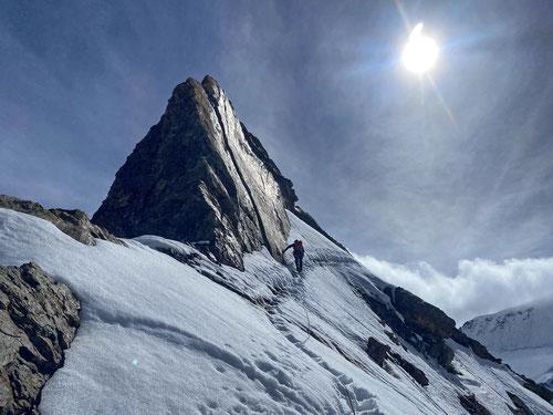 2020/09: Auf dem Abstieg vom Eiger (CH/BE)