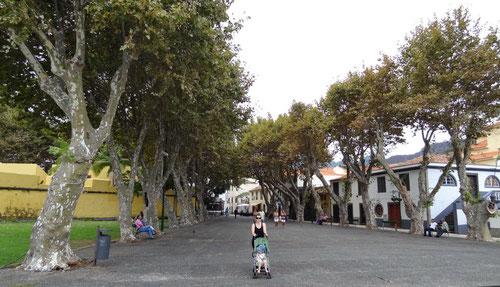 Der erste Spaziergang in Machicco