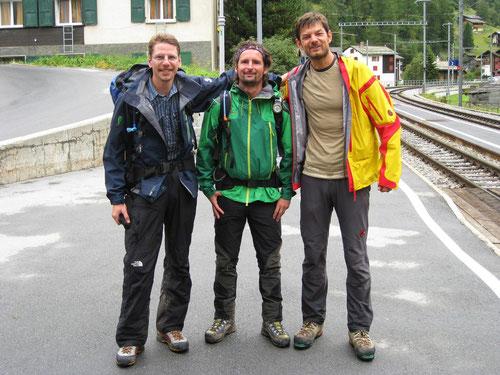 Zurück in Randa: Die verschwitzten Alpendudes