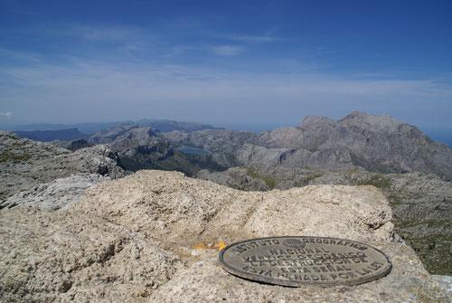 Auf dem zweithöchsten Berg Mallorcas: Puig de Massanella