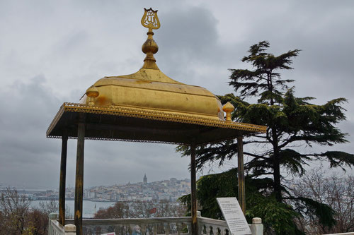 Regnerische Aussicht vom Topkapı-Palast - aber trotzdem eindrücklich