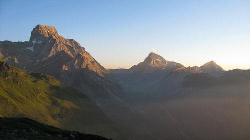 Ausblick von der Glärnischhütte
