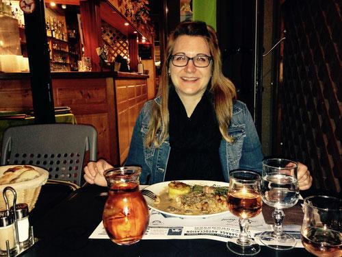 Abendessen im Le Chavot