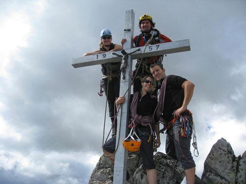 Gipfel des Wiwannihorns (3001m)