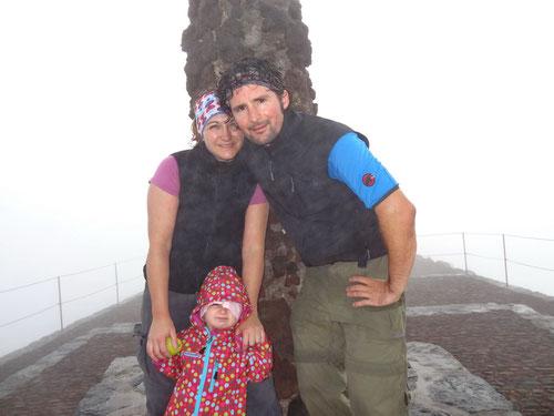 Auf dem höchsten Punkt von Madeira - Pico Ruvio 1862m