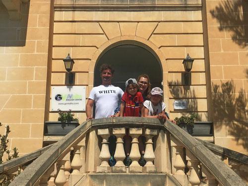 An der GV-Malta Sprachschule