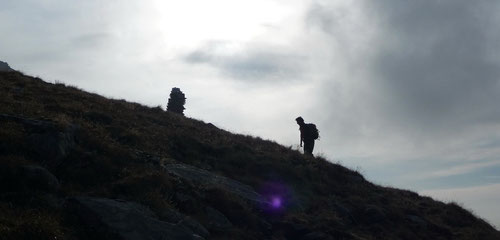 Aufstieg zum Südgrat