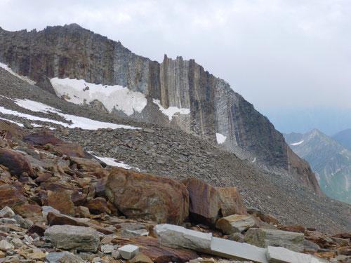 Die Gesteinsvielfalt in dieser Region ist enorm.