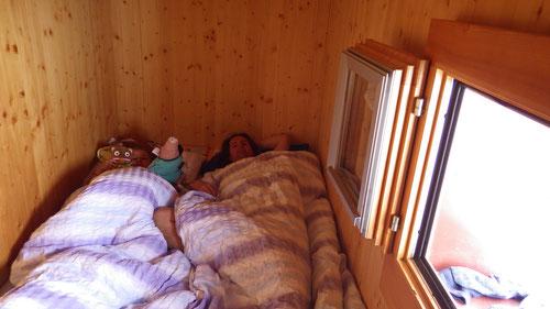 """Unser kleines Zimmer """"Leist""""."""