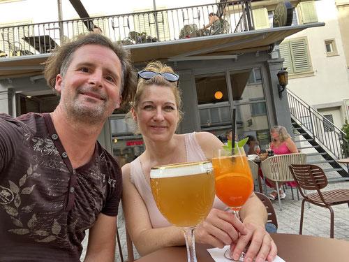 Nach der Wanderung verbrachte ich noch ein paar Tage in Winterthur, wo mich Tanja besuchte.