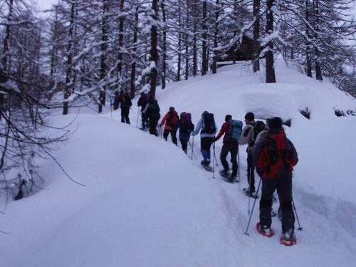 Abendwanderung auf der Alpe Devero