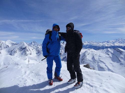 Auf dem Gipfel des Grossstrubels 3243m