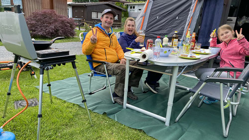 2020/06: Auf dem Camping Lazy Rancho Interlaken (CH/BE)