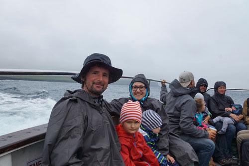 Auf dem Schiff nach Inisheer