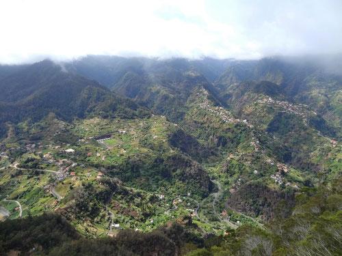 Die grüne Nordseite Madeiras