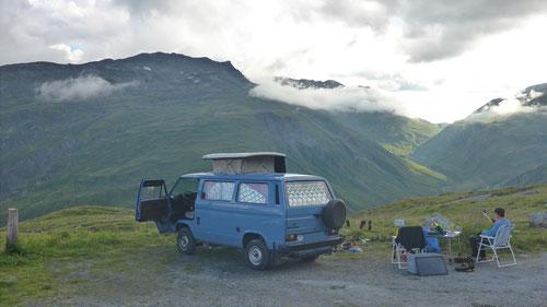 2020/08: So lieben es die Alpen-Dudes.