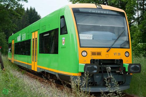VT 20 der Waldbahn (Bayerischer Wald)