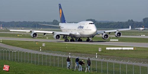 Lufthansa, Boeing 747-430 (D-ABTK), Airport München